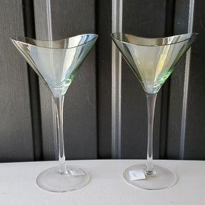Unique Wine Glasses NWOT